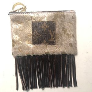 Lv patch coin purse